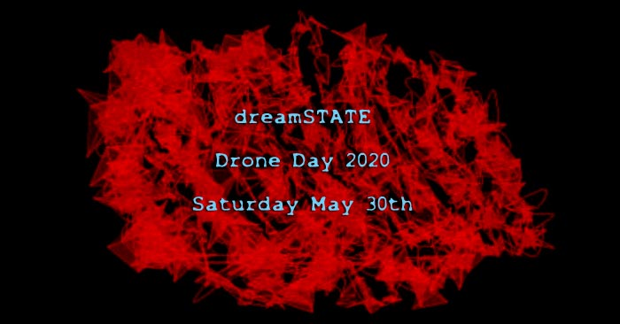 dreamSTATE poster for Drone Day 2020
